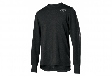 Fox Ranger Thermo Black Long Sleeve Jersey