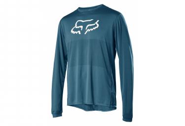 Fox Ranger Long Sleeve Jersey Blue