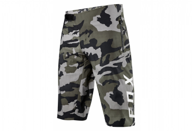 Fox Defend Pro Water Green / Camo Shorts ohne Haut