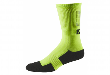 Mid-High Fox 8 Trail Lunar Day Gelbe Socken