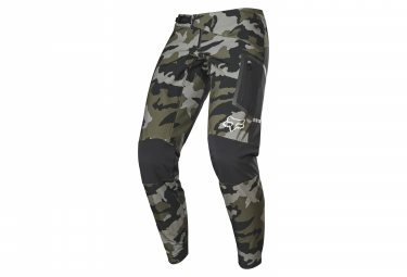 Fox Defend Fire Green / Camo Pants