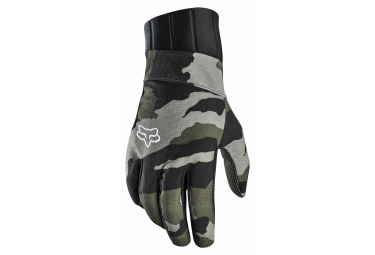 Guantes largos Fox Pro Fire Green / Camo