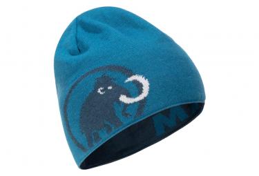 Image of Bonnet mammut logo bleu