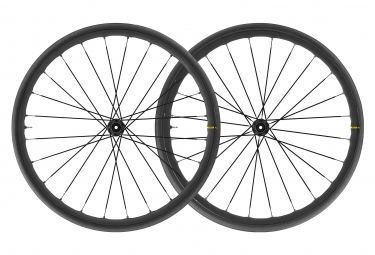 Wheelset 2020 Mavic Allroad Elite Road + Disc Centerlock | 12 / 15x100 - 12x142mm | Bronze