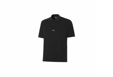 Oakley Crossrange Collection Short Sleeve Polo Black
