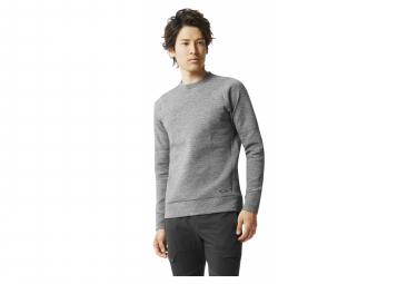 Oakley Radskin Shell WR Fleece Crew 2.0 Graues Sweatshirt