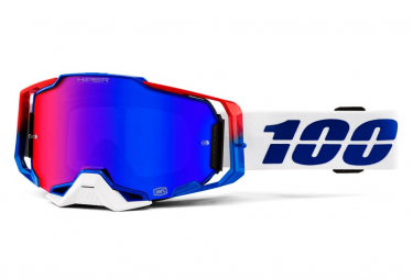 100% Maske ACCURI REFLEX Gunmetal Transparent Screen (Double Ventill)