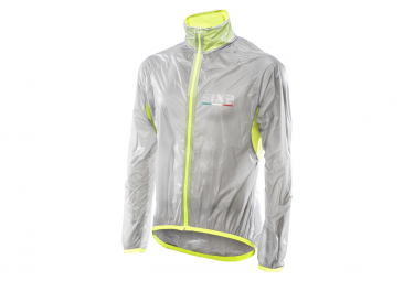 Image of Veste coupe vent sixs ghost transparent jaune l