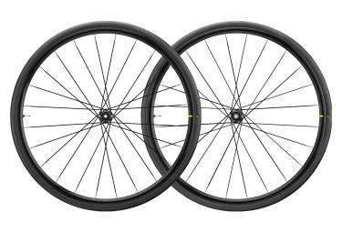 Pair of Mavic 2020 Aksium Elite UST Disc Centerlock Wheels | 12 / 15x100 - 12x142mm | Yksion Pro
