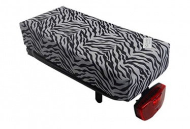 Image of Coussin assise zebre pour porte bagages big cushie hooodie