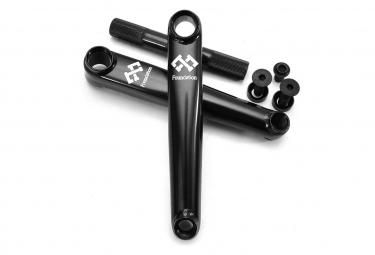 P BMX Foundation Syndicate 170mm Black