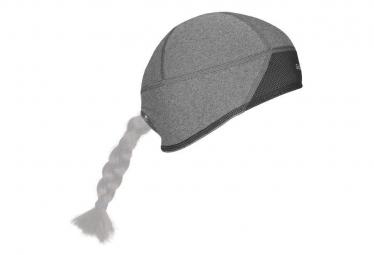 GripGrab Gorra térmica ligera a prueba de viento con calavera gris