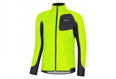 GORE Wear AH19R3 Partial WINDSTOPPER Wear Shirt neon yellow black