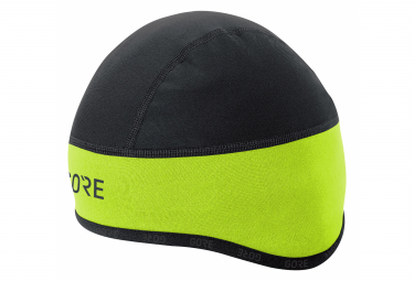 GORE Wear C3 Windstopper Wear Helmet Cap neon yellow black