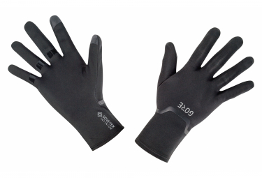 Paire de Gants GORE Wear M GORE-TEX INFINIUM Stretch Noir