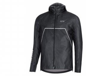 Veste Imperméable GORE Wear R7 GORE-TEX ShakeDry Trail Hooded Noir