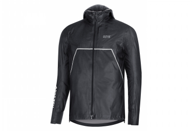 Veste Imperméable GORE Wear R7 GORE-TEX ShakeDry Trail Hooded Noir