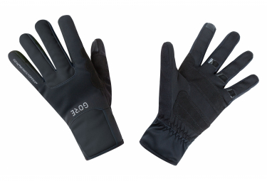 GORE Wear M Windstopper Wear Thermo Gloves black