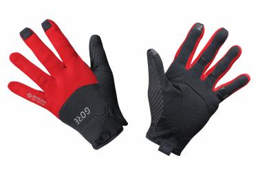 Paire de Gants GORE Wear C5 Gore-Tex Infinium Gants Noir Rouge