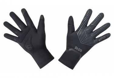Paire de Gants GORE Wear C3 Gore-Tex Infinium Stretch Mid Noir
