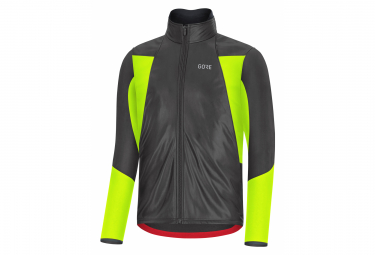 GORE Wear C5 Gore-Tex Infinium Soft Lined Thermo Jacket Black Yellow