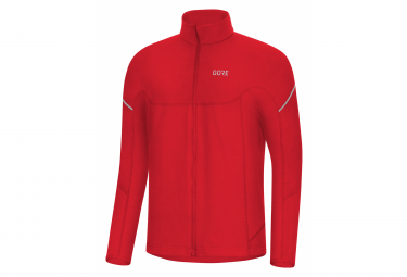 GORE Wear M Thermo Long Sleeve Zip Shirt red