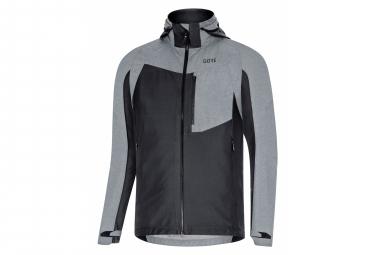 GORE Wear C5 Gore-Tex Infinium Hybrid Hooded Jacket Black Grey