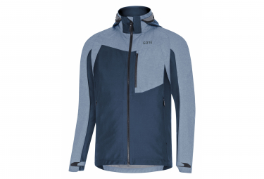 GORE Wear C5 Gore-Tex Infinium Hybrid Hooded Jacket deep water blue
