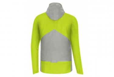 Veste Imperméable GORE Wear C5 Gore-Tex Trail Hooded Gris Yellow