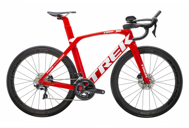V road 2020 Trek Madone SLR 6 Speed Disc Shimano Ultegra 11V Viper Red / Trek White