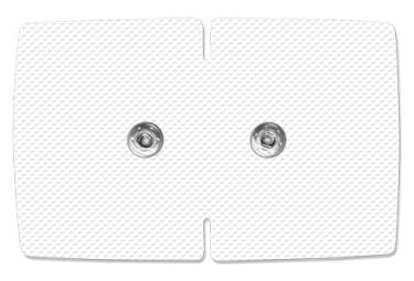 Image of 2 electrodes wx doubles sport elec electrostimulation