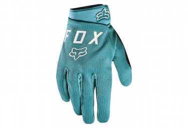 Long Gloves Fox Ranger Gel Aqua / Blue