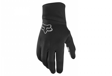 Long Gloves Fox Ranger Girl Black