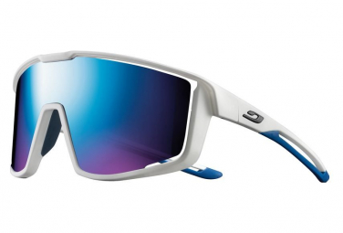 Pair of Julbo Fury Spectron Sunglasses White / Blue