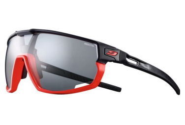 Pair of glasses Julbo Rush Reactiv Photochromic Black / Red