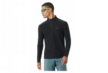 Oakley 1/4 Black Zip Sweatshirt