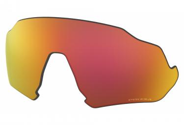 Verre de Remplacement Oakley Flight Jacket Prizm Ruby