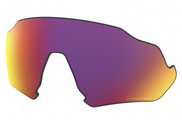 Verre de Remplacement Oakley Flight Jacket Prizm Road