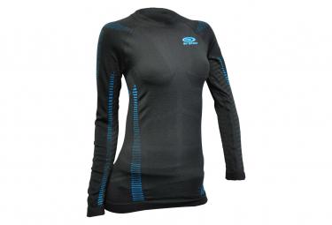 Bv Women  39 S Long Sleeve Jersey Sport Black Blue S