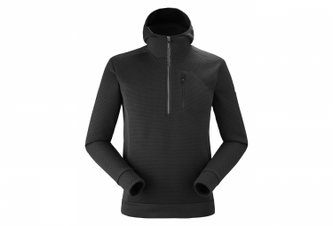 Eider Fleece M Fleece Hoodie Black Men