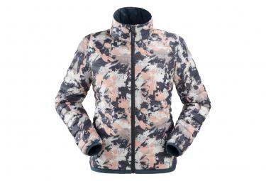 Eider Down Jacket Venosc Pink Camo Women