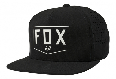 Gorra Negra Blindada Fox