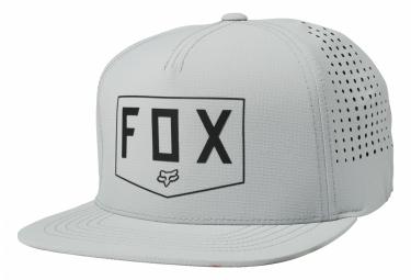 Casquette Fox Shielded Gris