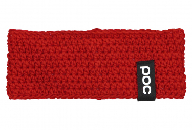 Image of Bandeau poc crochet rouge prismane
