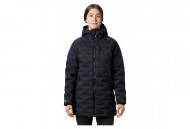Mountain Hardwear Down Jacket Hoodie Super DS Stretchdown Black Women