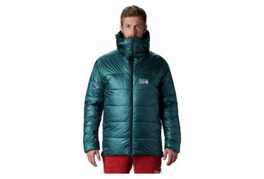 Mountain Hardwear Down Jacket Phantom Blue Green