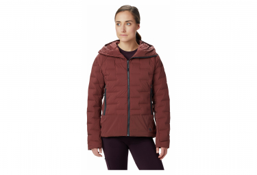 Image of Doudoune doudoune femme mountain hardwear super ds climb rouge xs