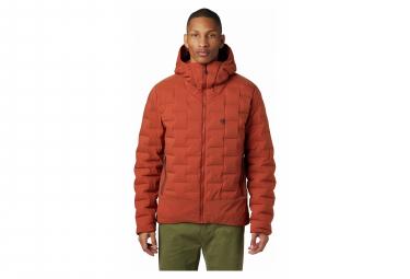 Mountain Hardwear Down Jacket Hoodie Super DS Climb Red Men