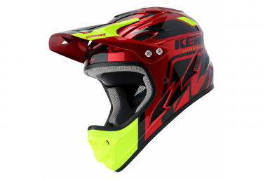 Casque Intégral Kenny Down Hill Graphic Rouge Candy