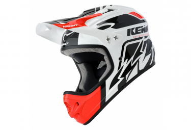 Int gral helmet Kenny Down Hill Graphic White / Black / Red